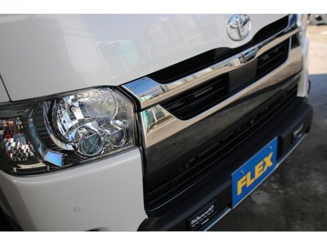 スーパーGL ダークプライムII ロングボディ クラフトプラスパッケージ デニム内装 ナビ 後席フリップダウンモニター デニムベッドキット TRDフロントスポイラー 4WD 寒冷地仕様(14枚目)