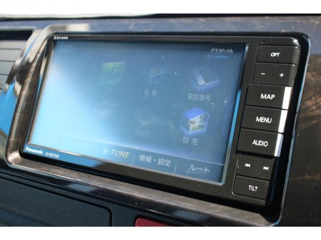 スーパーGL ダークプライムII ロングボディ クラフトプラスパッケージ デニム内装 ナビ 後席フリップダウンモニター デニムベッドキット TRDフロントスポイラー 4WD 寒冷地仕様(16枚目)