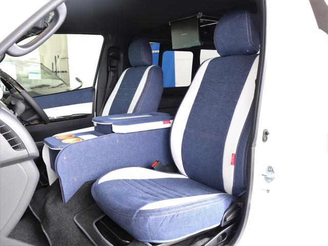 スーパーGL ダークプライムII ロングボディ クラフトプラスパッケージ デニム内装 ナビ 後席フリップダウンモニター デニムベッドキット TRDフロントスポイラー 4WD 寒冷地仕様(22枚目)