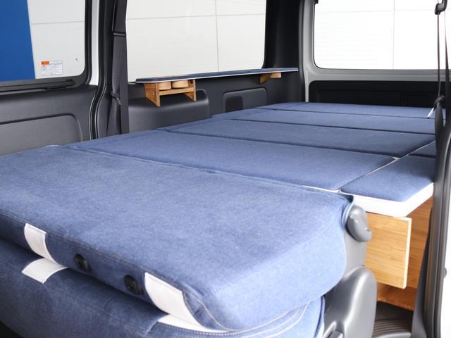 スーパーGL ダークプライムII ロングボディ クラフトプラスパッケージ デニム内装 ナビ 後席フリップダウンモニター デニムベッドキット TRDフロントスポイラー 4WD 寒冷地仕様(29枚目)