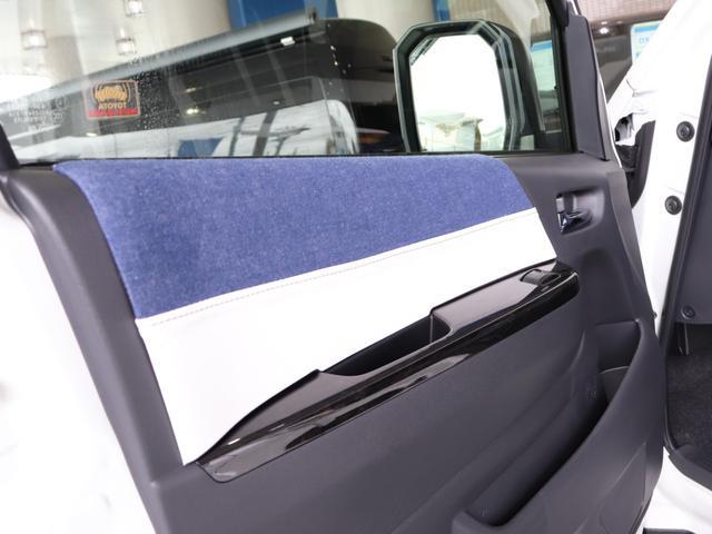 スーパーGL ダークプライムII ロングボディ クラフトプラスパッケージ デニム内装 ナビ 後席フリップダウンモニター デニムベッドキット TRDフロントスポイラー 4WD 寒冷地仕様(31枚目)