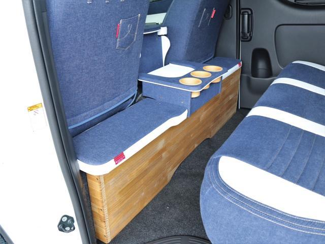 スーパーGL ダークプライムII ロングボディ クラフトプラスパッケージ デニム内装 ナビ 後席フリップダウンモニター デニムベッドキット TRDフロントスポイラー 4WD 寒冷地仕様(40枚目)