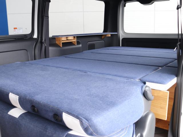 スーパーGL ダークプライムII ロングボディ クラフトプラスパッケージ デニム内装 ナビ 後席フリップダウンモニター デニムベッドキット TRDフロントスポイラー 4WD 寒冷地仕様(47枚目)