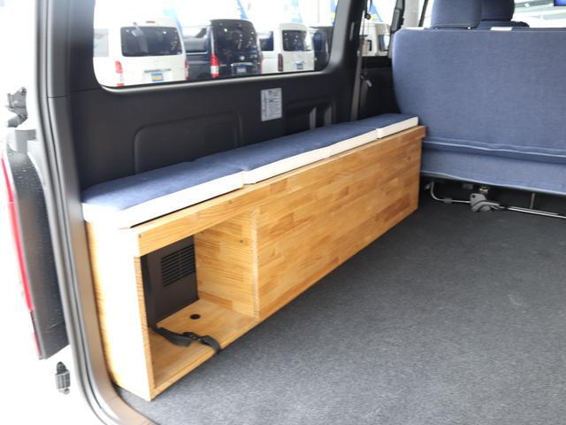 スーパーGL ダークプライムII ロングボディ クラフトプラスパッケージ デニム内装 ナビ 後席フリップダウンモニター デニムベッドキット TRDフロントスポイラー 4WD 寒冷地仕様(53枚目)
