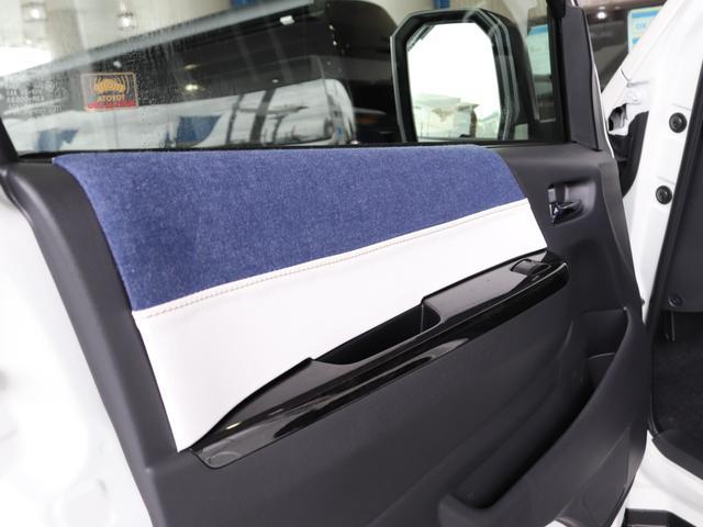 スーパーGL ダークプライムII ロングボディ クラフトプラスパッケージ デニム内装 ナビ 後席フリップダウンモニター デニムベッドキット TRDフロントスポイラー 4WD 寒冷地仕様(62枚目)