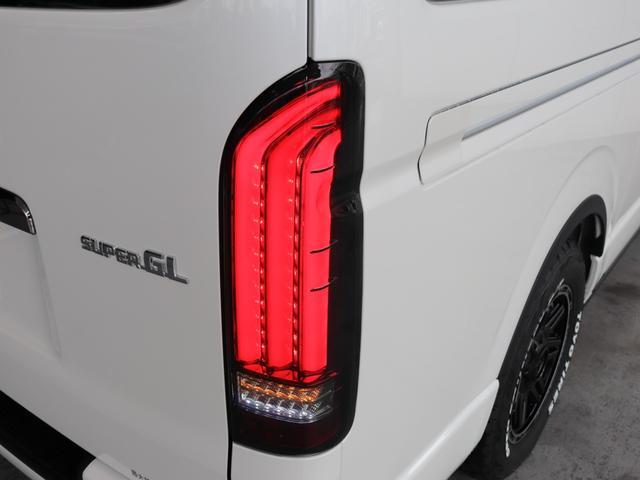 スーパーGL ダークプライムII ロングボディ クラフトプラスパッケージ デニム内装 ナビ 後席フリップダウンモニター デニムベッドキット TRDフロントスポイラー 4WD 寒冷地仕様(74枚目)
