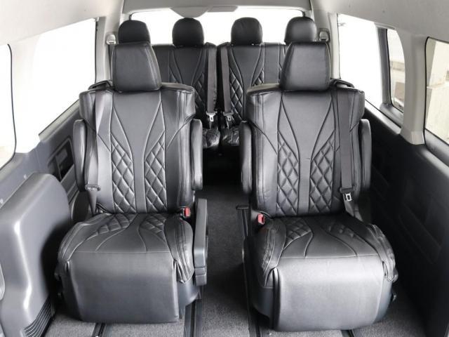 グランドキャビン ファインテックツアラー 4WD寒冷地仕様 キャプテンシート 10インチナビ ブルーレイ再生 ローダウン FLEXカスタム(9枚目)
