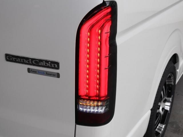 グランドキャビン ファインテックツアラー 4WD寒冷地仕様 キャプテンシート 10インチナビ ブルーレイ再生 ローダウン FLEXカスタム(16枚目)