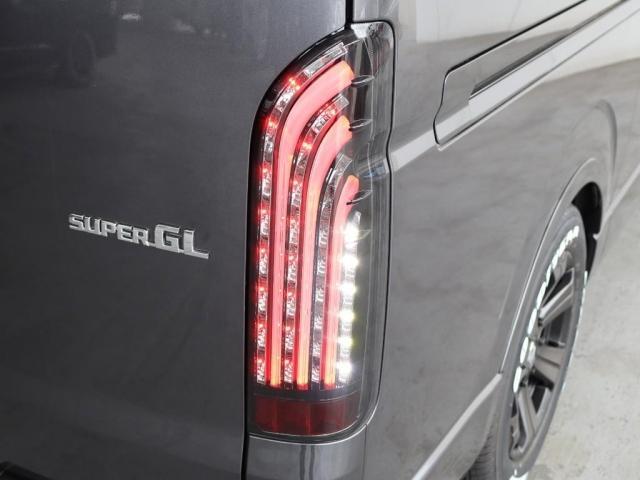 スーパーGL ダークプライムIIワイド ロングボディ ディーゼルターボ ベッドキット 10インチパナソニックナビ 後席フリップダウンモニター FLEXカスタム パノラミックビューモニター(19枚目)