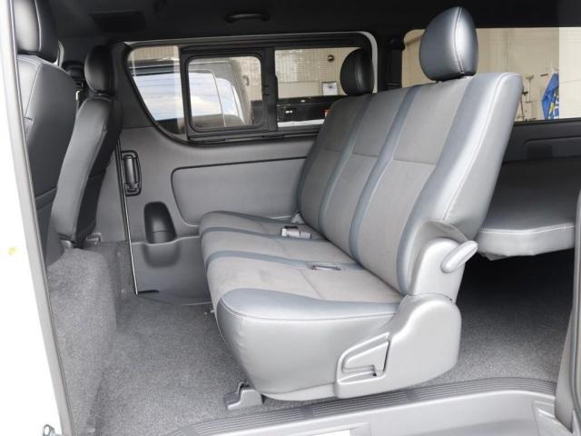 スーパーGL ダークプライムII ロングボディ ディーゼルターボ 4WD寒冷地仕様 FLEXカスタム ベッドキット ローダウン デジタルインナーミラー パノラミックビューモニター(9枚目)