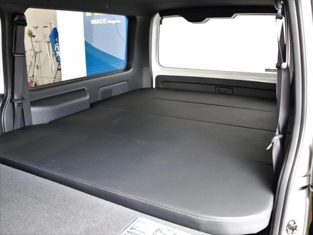 スーパーGL ダークプライムII ロングボディ ディーゼルターボ 4WD寒冷地仕様 FLEXカスタム ベッドキット ローダウン デジタルインナーミラー パノラミックビューモニター(11枚目)