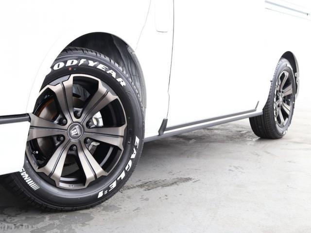 スーパーGL ダークプライムII ロングボディ ディーゼルターボ 4WD寒冷地仕様 FLEXカスタム ベッドキット ローダウン デジタルインナーミラー パノラミックビューモニター(16枚目)