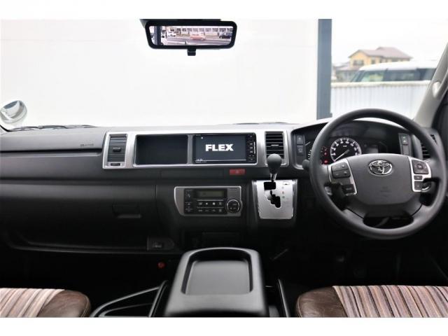 GL FLEXカスタム 4WD寒冷地仕様 リノカシートカバー パナソニックナビ ETC 後席フリップダウンモニター パノラミックビューモニター デジタルインナーミラー(2枚目)