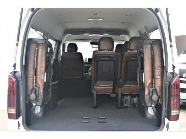 GL FLEXカスタム 4WD寒冷地仕様 リノカシートカバー パナソニックナビ ETC 後席フリップダウンモニター パノラミックビューモニター デジタルインナーミラー(14枚目)