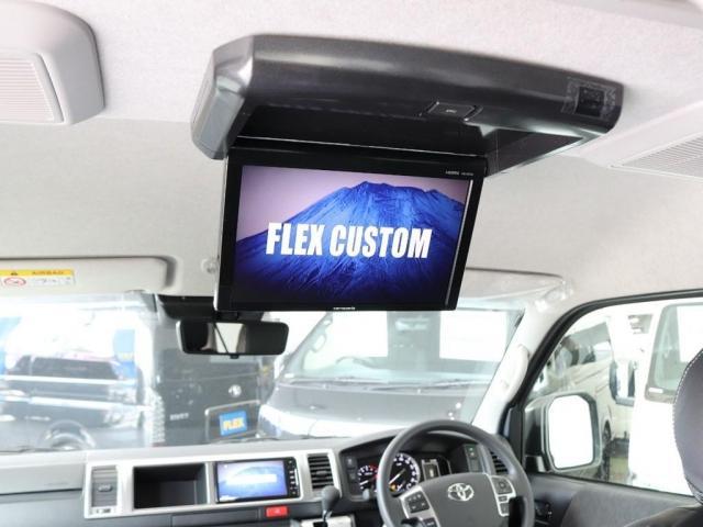 GL FLEXカスタム ストラーダナビ フルセグTV 後席フリップダウンモニター オートスライドドア デジタルインナーミラー パノラミックビューモニター スマートキー(4枚目)