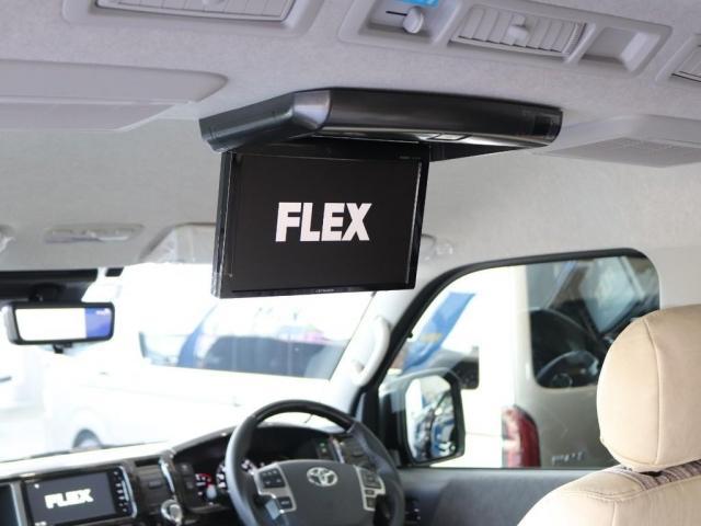 GL ロング FLEXスタンダートパッケージ パノラミックビューモニター デジタルインナーミラー パワースライドドア 全席シートカバー ナビ フリップダウンモニター(4枚目)