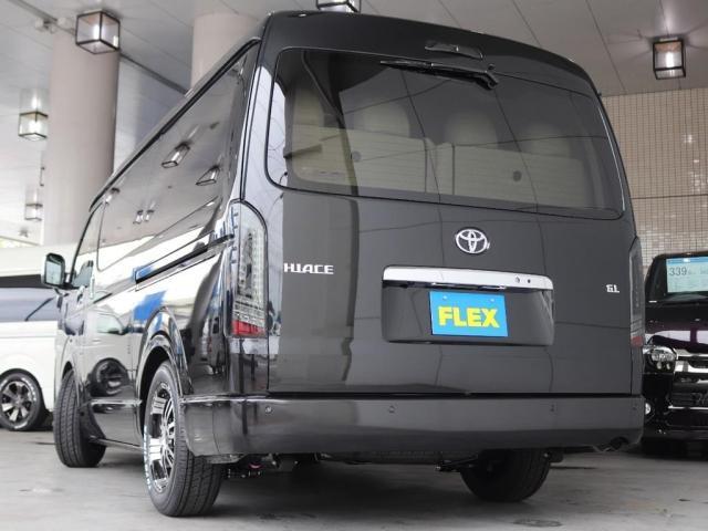 GL ロング FLEXスタンダートパッケージ パノラミックビューモニター デジタルインナーミラー パワースライドドア 全席シートカバー ナビ フリップダウンモニター(14枚目)