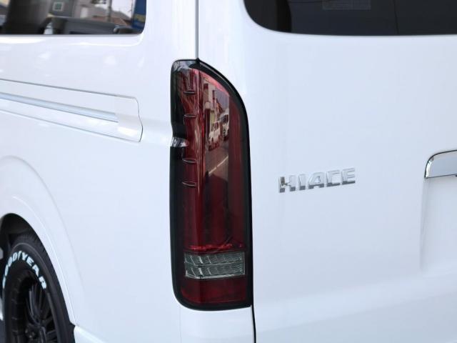 GL ロング FLEXスタンダードパッケージ FLEXシートカバー内装 ナビ 後席フリップダウンモニター ETC 自動ドア パノラミックビューモニター デジタルインナーミラー(13枚目)