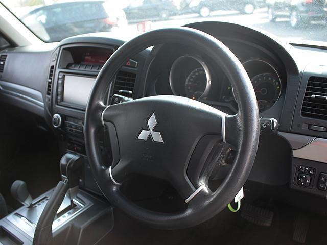 三菱 パジェロ ショート VR-I 4WD 16AW エアロ HDDナビ