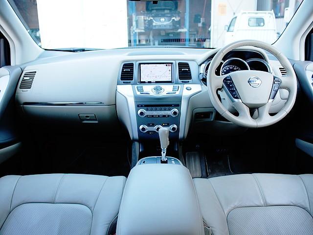 日産 ムラーノ 250XV 1オーナー ベージュ革シート サンルーフ