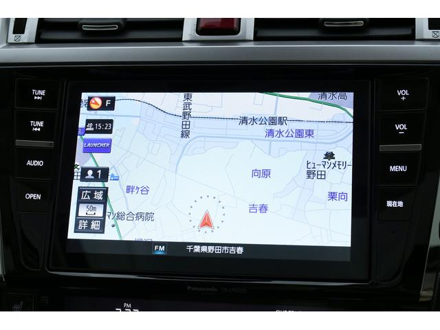 リミテッド 4WD サンルーフ 黒本革 8型専用ナビ STi(10枚目)