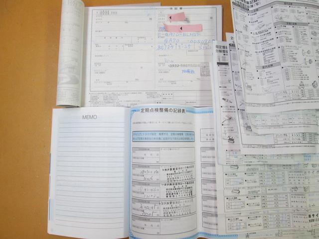 新車保証書、取説ございます。