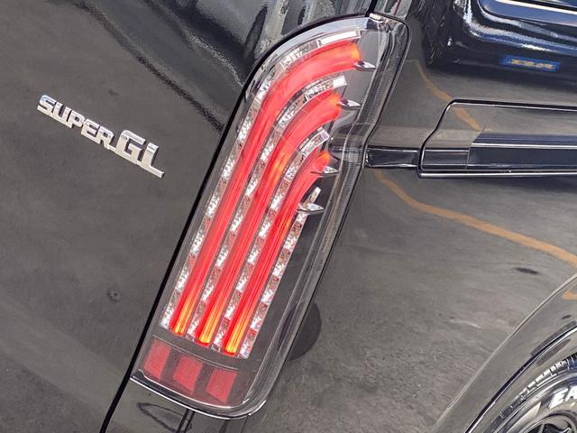 スーパーGL ダークプライムII フロントスポイラー ローダウン 17インチアルミ LEDテール(19枚目)