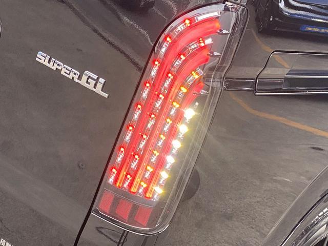 スーパーGL ダークプライムII フロントスポイラー ローダウン 17インチアルミ LEDテール(22枚目)