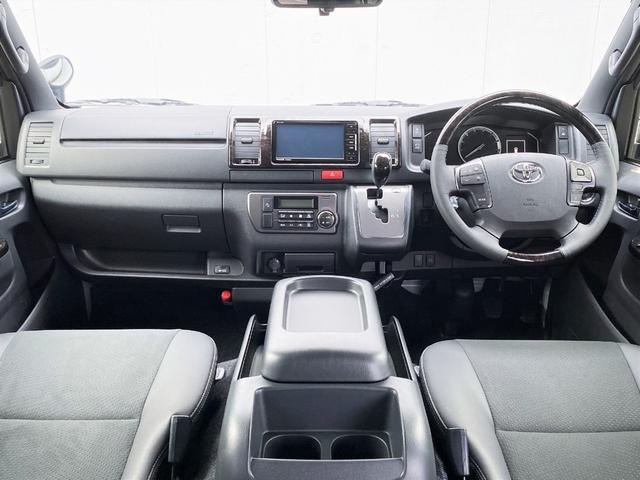 スーパーGL ダークプライムII FLEXベットキットカスタム オーバーフェンダー 16インチアルミ LEDテール フルセグナビ ETC ベットキット LEDヘッドライト 両側パワースライドドア スマートキー ディーゼルターボ4WD(2枚目)