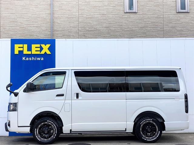 スーパーGL ダークプライムII FLEXベットキットカスタム オーバーフェンダー 16インチアルミ LEDテール フルセグナビ ETC ベットキット LEDヘッドライト 両側パワースライドドア スマートキー ディーゼルターボ4WD(33枚目)