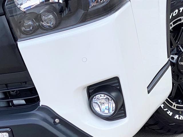 スーパーGL ダークプライムII FLEXベットキットカスタム オーバーフェンダー 16インチアルミ LEDテール フルセグナビ ETC ベットキット LEDヘッドライト 両側パワースライドドア スマートキー ディーゼルターボ4WD(39枚目)