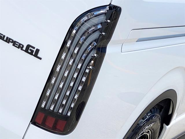 スーパーGL ダークプライムII FLEXベットキットカスタム オーバーフェンダー 16インチアルミ LEDテール フルセグナビ ETC ベットキット LEDヘッドライト 両側パワースライドドア スマートキー ディーゼルターボ4WD(52枚目)