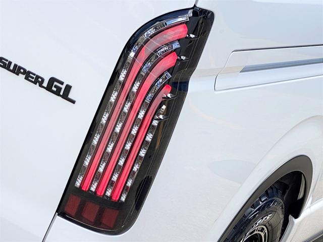 スーパーGL ダークプライムII FLEXベットキットカスタム オーバーフェンダー 16インチアルミ LEDテール フルセグナビ ETC ベットキット LEDヘッドライト 両側パワースライドドア スマートキー ディーゼルターボ4WD(53枚目)