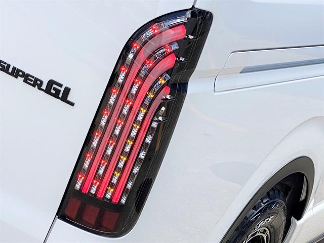 スーパーGL ダークプライムII FLEXベットキットカスタム オーバーフェンダー 16インチアルミ LEDテール フルセグナビ ETC ベットキット LEDヘッドライト 両側パワースライドドア スマートキー ディーゼルターボ4WD(55枚目)