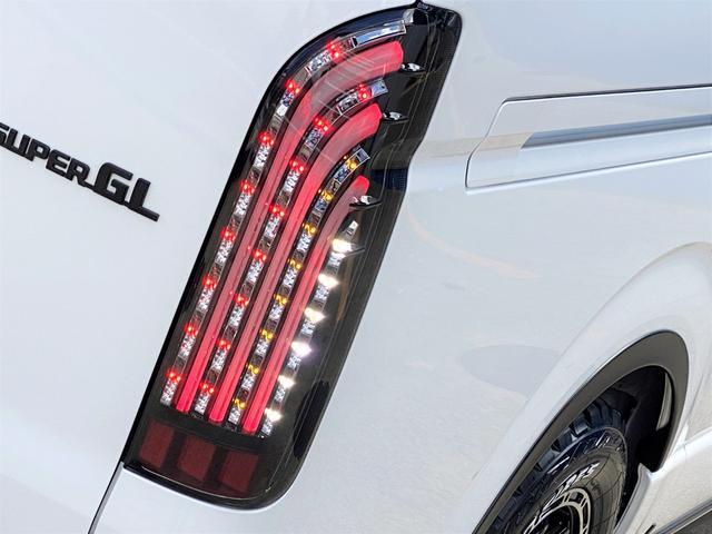 スーパーGL ダークプライムII FLEXベットキットカスタム オーバーフェンダー 16インチアルミ LEDテール フルセグナビ ETC ベットキット LEDヘッドライト 両側パワースライドドア スマートキー ディーゼルターボ4WD(56枚目)