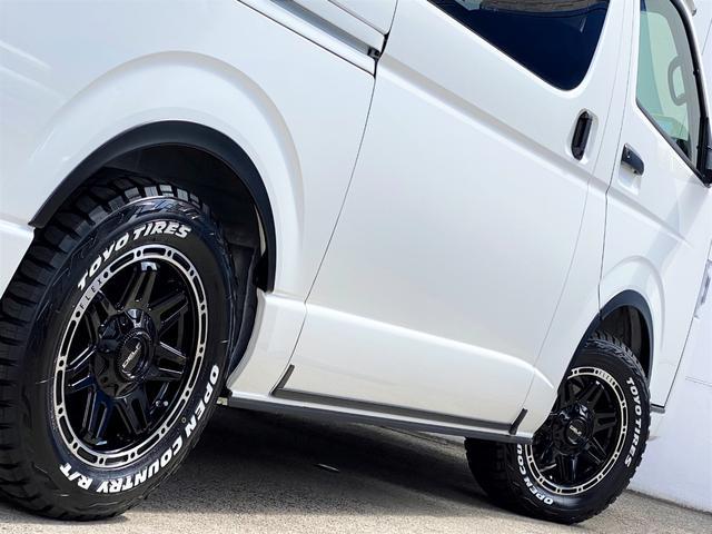 スーパーGL ダークプライムII FLEXベットキットカスタム オーバーフェンダー 16インチアルミ LEDテール フルセグナビ ETC ベットキット LEDヘッドライト 両側パワースライドドア スマートキー ディーゼルターボ4WD(58枚目)