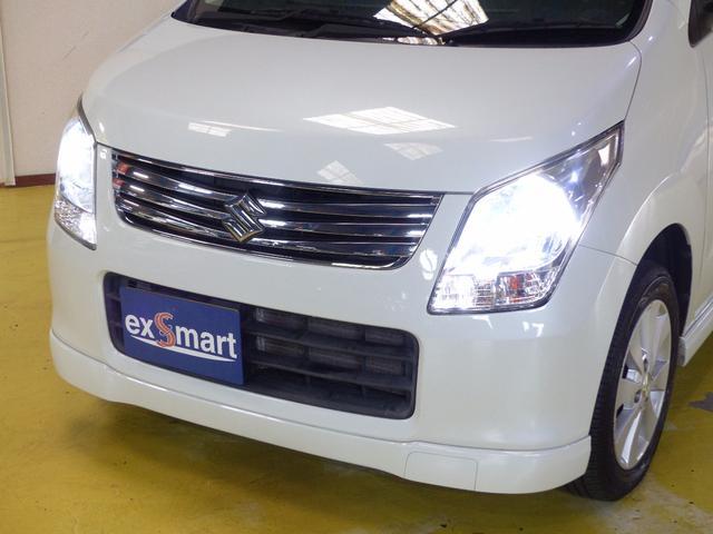 スズキ ワゴンR FXリミテッド 社外ナビ 地デジTV スマートキー ETC