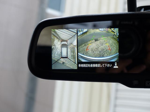 上からの視点のアラウンドビューモニターを装備!