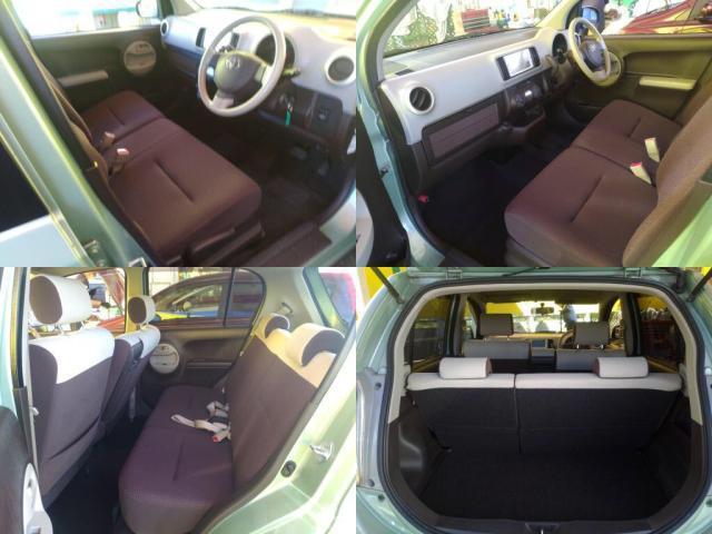 後部座席とラゲッジスペースは用途によってフレキシブルにレイアウト可能です