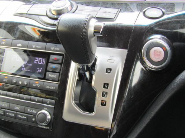 日産 エルグランド ライダーブラックライン 黒本革シート仕様フリップD12セグH