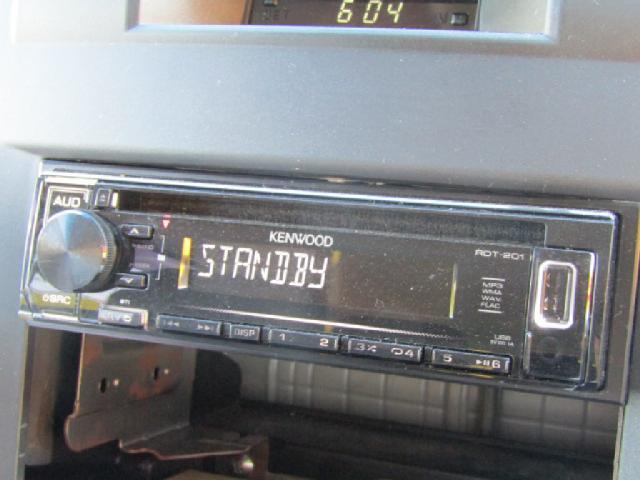 CDオーディオ!ラジオも聴けます!