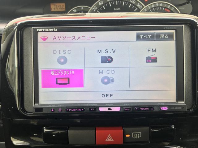 ダイハツ タント カスタム X リミテッド HDDナビ 電動スライド HID