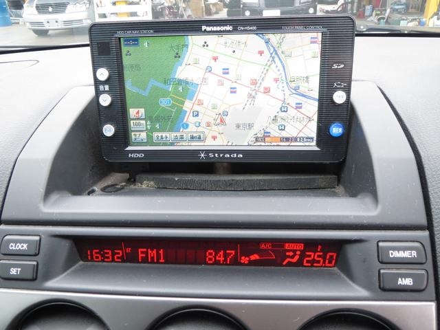 マツダ アテンザスポーツワゴン 23Z ナビ CD アルミ エアロ HID フォグ 5MT