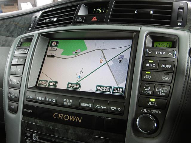 トヨタ クラウン ロイヤルサルーン 1オーナー ナビ Bカメラ 整備記録簿