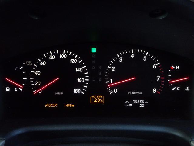 トヨタ セルシオ B仕様 eR タナベ車高調 20AW サンルーフ ナビ 本革
