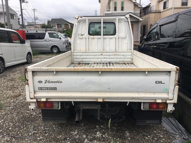 日産 バネットトラック スーパーローGL ダブルタイヤ ETC 850k積