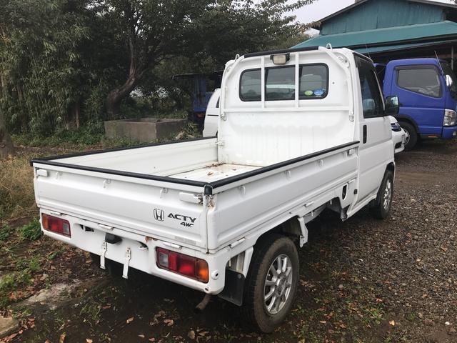 ホンダ アクティトラック 4WD AC MT 軽トラック 三方開