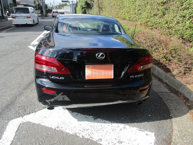 「レクサス」「IS」「オープンカー」「東京都」の中古車6