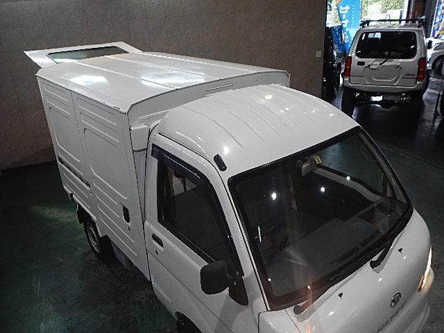 ダイハツ ハイゼットトラック パネルバン ワンオーナー 両側スライドドア 新品ワンセグナビ