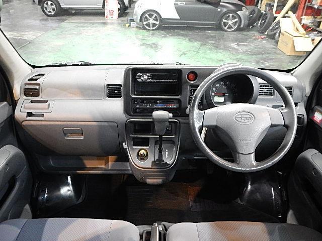 スバル サンバーバン トランスポーター ハイルーフ 社外12AW 新品ワンセグナビ